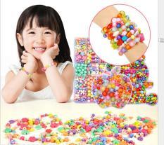 Bộ xâu lắc vòng cho bé gái – Đồ chơi thông minh phát triển khả năng khóe léo cho trẻ