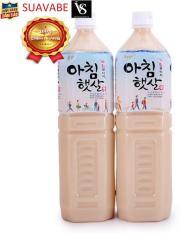Combo 2 chai nước gạo rang Hàn Quốc 1500ml