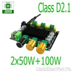 Mạch khuếch đại âm thanh classD 2.1 2x50W + 100W TPA3116D2 V2
