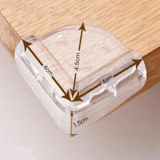 Bộ 4 miếng bịt góc bàn hoặc góc canh nhọn an toàn cho bé