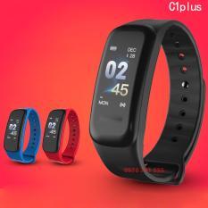 Vòng đeo tay thông minh Wearfit C1 màn hình màu cảm ứng, kết nối điện thoại