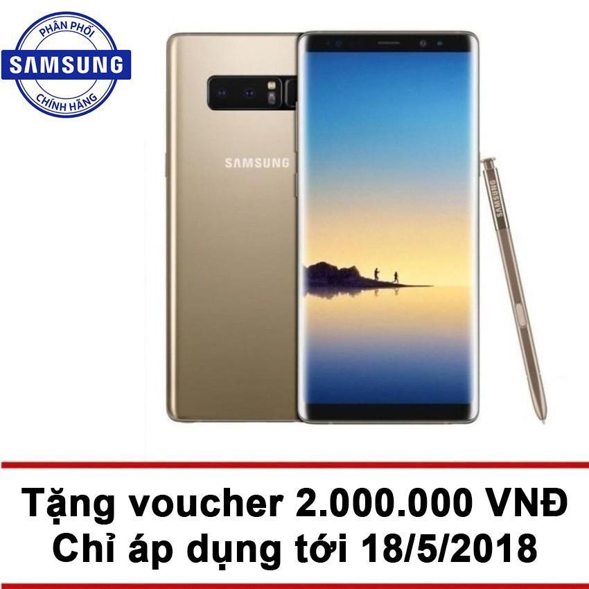 Samsung Galaxy Note 8 64GB RAM 6GB 6.3 inch (Vàng) - Hãng Phân phối chính thức + Tặng phiếu mua...