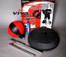 Bóng Tập Đấm Boxing Phản Xạ Cao Cấp (Đỏ Đen) – VivaSports