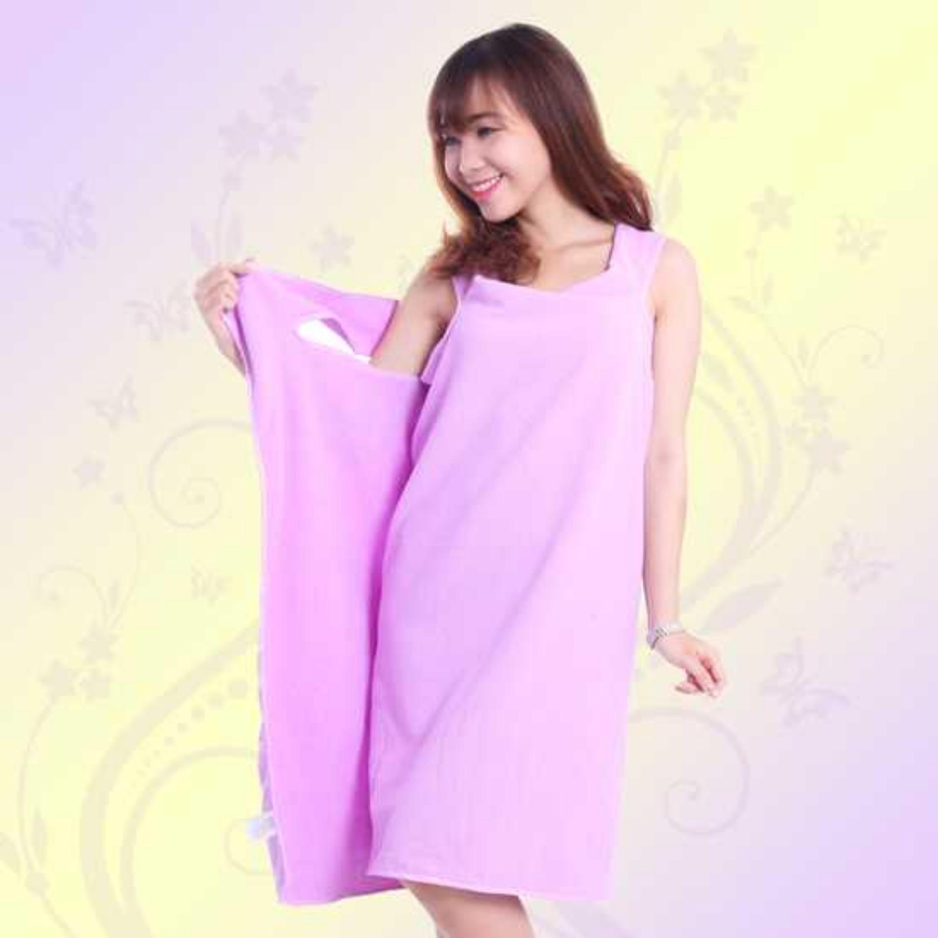 KHĂN TẮM 2 TRONG 1 (Vừa là khăn vừa là áo)
