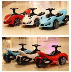 Xe lắc trẻ em- xe lắc tay Ferrari MBHUONG37