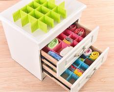 Bộ 8 thanh ngăn chia ô lắp ghép cho hộc bàn