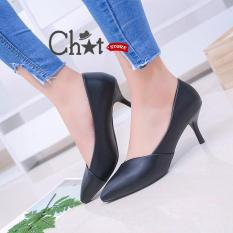 Giày Cao Gót Nữ Mũi Nhọn Thời Trang