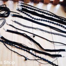 Bộ 12 vòng cổ choker thời trang
