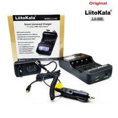 Sạc pin đa năng cao cấp Liitokala lii-500 màn hình LCD cho pin sạc 18650, AA, AAA…