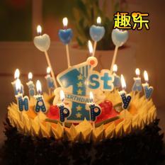Bộ nến chữ happy birthday