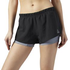 REEBOK – Quần ngắn tập Gym , chạy bộ thể thao nữ Short 2-in-1 Running Essentials BQ5552 – Phân phối chính hãng