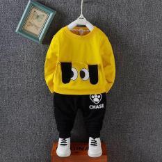 bộ đồ bé trai/ gái họa tiết tai và mắt(kèm ảnh shop chụp)