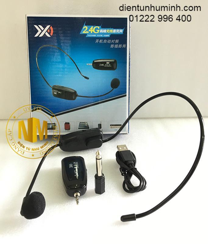Micro không dây đeo tai 2.4G