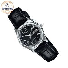 Đồng hồ nữ dây da Casio Anh Khuê LTP-V006L-1BUDF