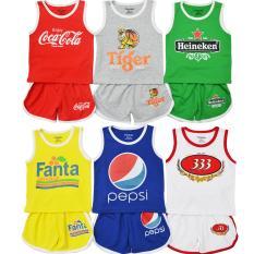 SET 5 Bộ Quần áo trẻ em nước giải khát CTKS02 (5 màu)