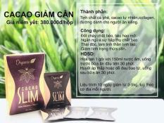 Bột giảm cân Cacao Slim tặng 1 ly thủy tinh