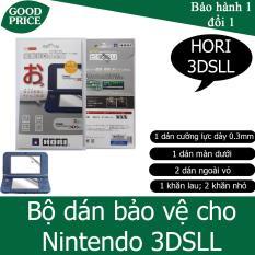 Bộ dán bảo vệ màn hình và thân máy HORI cho Nintendo New 3DSLL