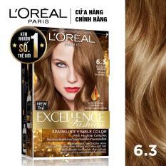 Kem nhuộm dưỡng tóc L'Oreal Paris Excellence Fashion màu #6.3 172ml (Nâu vàng)