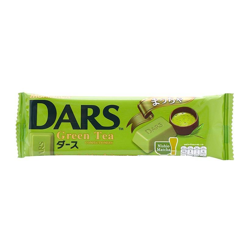 Kẹo Socola trà xanh Dars Morinaga 21g