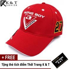 Nón nam thể thao Racing phong cách Thời Trang K&T