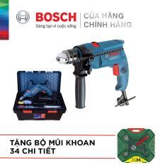 Máy khoan động lực Bosch GSB 550 FREEDOM – Tặng bộ phụ kiện FREEDOM 90 chi tiết và tặng Bộ Mũi Khoan 34 Chi Tiết