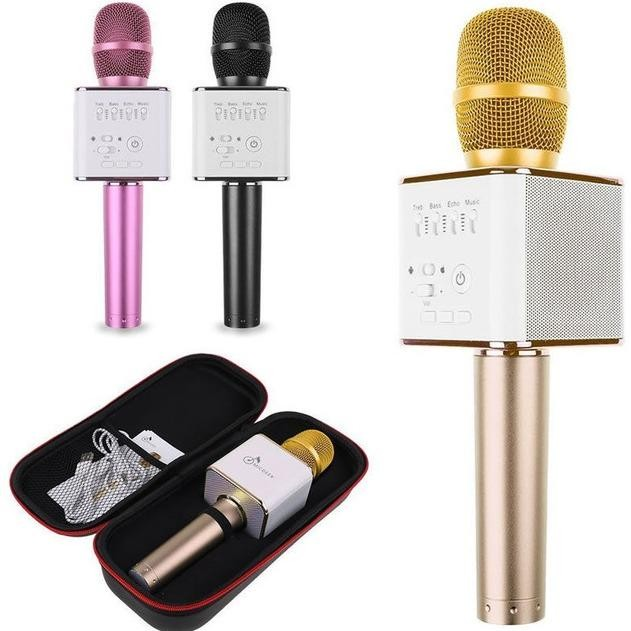Microphone KARAOKE Bluetooth Micro Q9 Tặng OTG