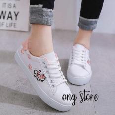 Giày Sneaker Nữ Hàn Quốc PASSO G033 (XÁM)