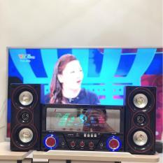 Dàn âm thanh tại nhà – loa vi tính cỡ lớn hát karaoke có kết nối Bluetooth USB Isky – SK335 2.1 Tặng kèm Mic hát