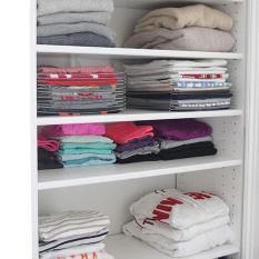 Set 10 khay xếp quần áo thông minh EZSTAX