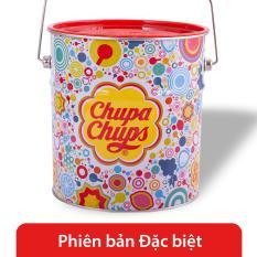 Chupa Chups kẹo mút hương trái cây hũ party 165 que