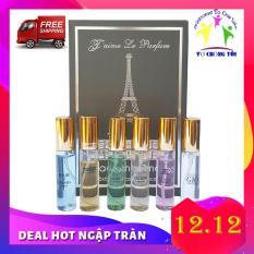 Bộ Nước Hoa Mini Nam Nữ Unisex Jaime Le Parfum 6 mùi nước Pháp Cao Cấp – HÀNG TỐT Giá Hạt Dẻ