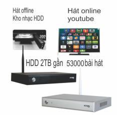 Đầu karaoke wifi Online & Offline Acnos KM6 – Sẵn ổ Cứng Có Nhạc 2TB