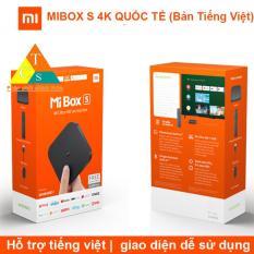 MIBOX S 4K QUỐC TẾ (Bản Tiếng Việt)