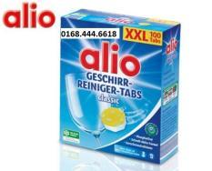 Viên rửa bát, viên rửa chén Alio 100 viên Classic (hàng Đức)