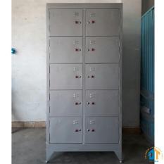 Tủ hồ sơ văn phòng 10 cửa cao 1M8