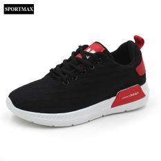 Giày sneaker thời trang thể thao nữ Sportmax SW42301B-Đen