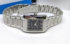 Đồng hồ nữ Halei 465 mặt chữ nhật màu đen