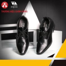Giày Tăng Chiều Cao Thời Trang Zapas Cao Thêm 6cm – GH011 (Màu đen)