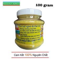 Tinh bột nghệ đỏ Đaklak 100 gram (nguyên chất 100%)