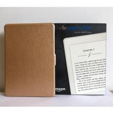 Máy Đọc Sách All-New Kindle PaperWhite (2018) và Bao da vàng đồng
