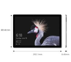 New Surface pro M3/4/128G + Type Cover + dán CL + Bao da