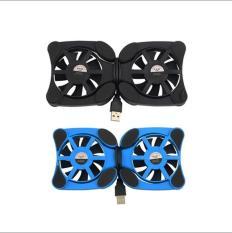 Đế tản nhiệt 2 quạt cho Laptop từ 7 đến 15 inch