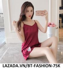 Đồ Bộ, Đồ Ngủ Mặc ở Nhà Thời Trang Mới – BT Fashion (ĐN-Ren Bông 01)