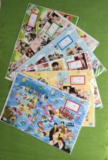Combo 50 tờ bao tập in hình BTS tặng 2 tấm thời khóa biểu BTS
