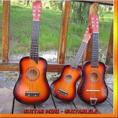 Đàn guitar – đàn ghita – ghitar nhỏ – Đàn guitar acoustic mini giá rẻ – đàn guitarlele gỗ – ukulele tenor