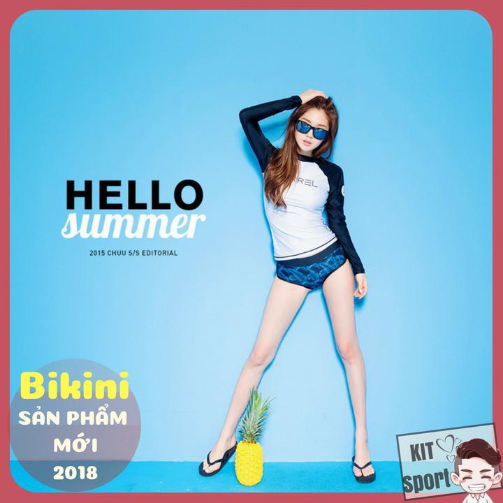 (2018) Bộ Đồ bơi nữ Bikini dài Barrel Heart - Cửa hàng phân phối KIT Sport (Áo quần tắm, đi...