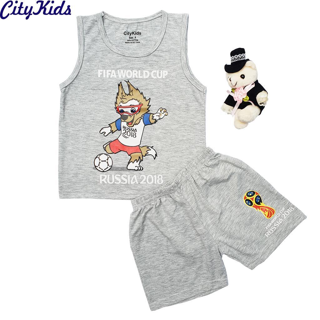 Quần áo trẻ em World Cup 2018 CTKS04