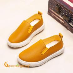 Giày trẻ em giày da giày lười trẻ em GLG093