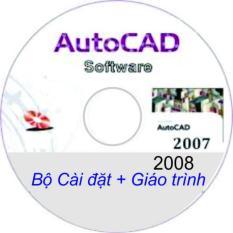 Bộ Đĩa DVD Autocad 2007_2008 _ Giáo Trình A-Z