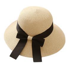 Nón cói đi tiệc, đi chơi, đi biển, đi làm, đi học thắt nơ hàng Quảng Châu cói mềm thuận tiện gấp gọn